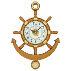 PWCPLZ502_COP-eCraftIndia-Decorative-Retro-Anchor-Copper-Pendulum-Wall-Clock_1