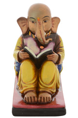 shgw10071-ecraftindia-premium-figurine-of-lord-ganesha-reading-book_1