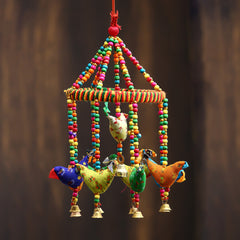 STRBIRD500--eCraftIndia-Handcrafted-Decorative-Birds-Wall/Door/Window-Hanging-Bells_1