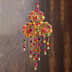 STRCIR499--eCraftIndia-Handcrafted-Decorative-Colorful-Wall/Door/Window-Hanging-Bells_1