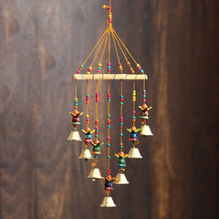STRKAL499--eCraftIndia-Handcrafted-Decorative-Kalash-Wall/Door/Window-Hanging-Bells_1