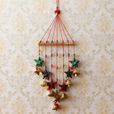 -eCraftIndia-Handcrafted-Decorative-Colorful-Stars-Wall/Door/Window-Hanging-Bells_2
