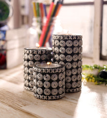 ecraftindia-black-and-silver-cylindrical-candle-stand-set-of-3_1