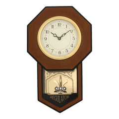 WCW0337_BROWN_FF-eCraftIndia-Brown-Round-Pendulum-Wooden-Wall-Clock_1