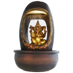 ecraftindia-lord-ganesh-and-round-textured-water-fountain_1