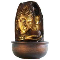 ecraftindia-lord-buddha-and-rounf-textured-water-fountain_1