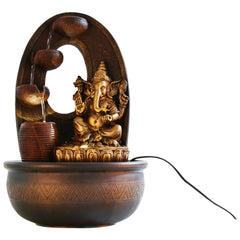 ecraftindia-golden-textured-lord-ganesha-water-fountain_1