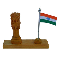 WIDPS107-eCraftIndia-Wooden-Ashoka-Pillar-with-National-Flag_1