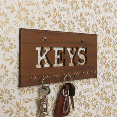 WKH515-eCraftIndia-Keys-Theme-Wooden-Key-Holder-with-7-Hooks_1
