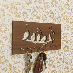 WKH516-eCraftIndia-Birds-Theme-Wooden-Key-Holder-with-7-Hooks_1