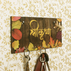 WKH525-eCraftIndia-Shree-Krishna-Theme-Wooden-Key-Holder-with-7-Hooks_1