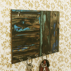 WKH528-eCraftIndia-Painting-Theme-Wooden-Key-Holder-with-6-Hooks_1