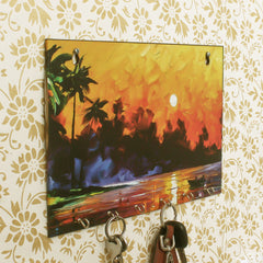 WKH529-eCraftIndia-Naturre-View-Theme-Wooden-Key-Holder-with-6-Hooks_1