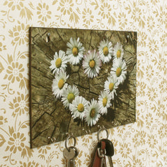 WKH531-eCraftIndia-Floral-Theme-Wooden-Key-Holder-with-6-Hooks_1