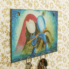WKH539-eCraftIndia-Radhe-Krishna-Theme-Wooden-Key-Holder-with-6-Hooks_1