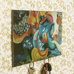 WKH541-eCraftIndia-Lord-Ganesha-Theme-Wooden-Key-Holder-with-6-Hooks_1