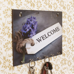 WKH545-eCraftIndia-Welcome-Theme-Wooden-Key-Holder-with-6-Hooks_1