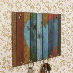 WKH548-eCraftIndia-Abstract-Theme-Wooden-Key-Holder-with-6-Hooks_1