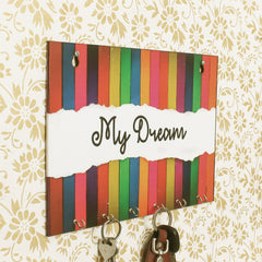 WKH551-eCraftIndia-My-Dream-Theme-Wooden-Key-Holder-with-6-Hooks_1