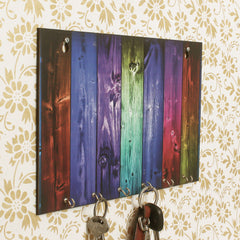 WKH553-eCraftIndia-Abstract-Theme-Wooden-Key-Holder-with-6-Hooks_1