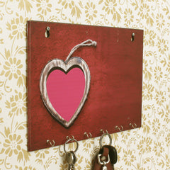 WKH555-eCraftIndia-Heart-Theme-Wooden-Key-Holder-with-6-Hooks_1