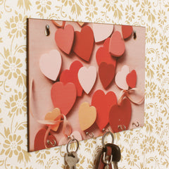 WKH556-eCraftIndia-Heart-Theme-Wooden-Key-Holder-with-6-Hooks_1