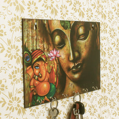 WKH559-eCraftIndia-Lord-Ganesha-Theme-Wooden-Key-Holder-with-6-Hooks_1