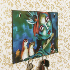 WKH561-eCraftIndia-Shree-Krishna-Theme-Wooden-Key-Holder-with-6-Hooks_1
