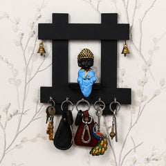 WKH600-eCraftIndia-Peaceful-Buddha-Sitting-Wooden-Keyholder-with-5-Key-Knobs_1