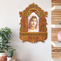 WOJH502-eCraftIndia-Decorative-Papier-Mache-Wooden-Jharokha-Wall-Hanging_1