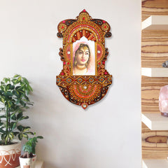 WOJH503-eCraftIndia-Decorative-Papier-Mache-Wooden-Jharokha-Wall-Hanging_1