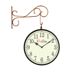 wowwacm1001_f-ecraftindia-metal-analog-round-dual-dial-hanging-station-wall-clock-copper-black-dial-size-10-inch-size-18-14-inch_1
