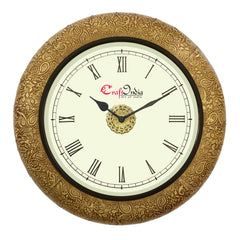 wowwacm1406_r-ecraftindia-wooden-analog-round-metal-carving-wall-clock-golden-size-14-14-inch_1
