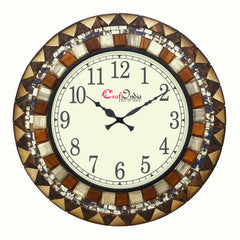 wowwacm1805_f-ecraftindia-analog-wooden-wall-clock-with-wooden-blocks-with-mosaic-glass-workbrown-18-18inch_1