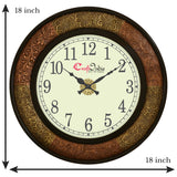 wowwacm1816_f-ecraftindia-wooden-analog-round-dual-color-metal-carving-frame-wall-clock-copper-golden-size-18-18-inch_3