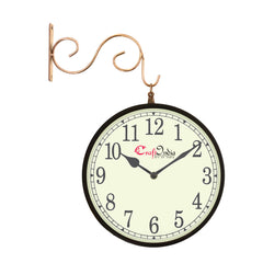 wowwacm801_f-ecraftindia-metal-analog-round-dual-dial-hanging-station-wall-clock-copper-black-dial-size-8-inch-size-15-12-inch_1