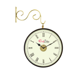 wowwacm802_r-ecraftindia-metal-analog-round-dual-dial-hanging-station-wall-clock-brass-dial-size-8-inch-size-15-12-inch_1
