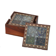ecraftindia-wooden-tea-coasters-with-gemstones_1
