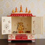 ecraftindia-white-and-red-mango-wood-pooja-temple/mandir-with-door-and-storage-option_2