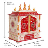 ecraftindia-white-and-red-mango-wood-pooja-temple/mandir-with-door-and-storage-option_4