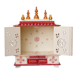 ecraftindia-white-and-red-mango-wood-pooja-temple/mandir-with-door-and-storage-option_5