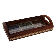 ecraftindia-multipurpose-gemstone-filled-6-rec-brown-wooden-utility-tray_1