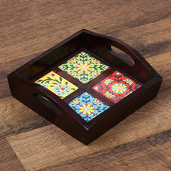 WUT517-eCraftIndia-Decorative-Multiutility-Colorful-Wooden-Serving-Tray_1