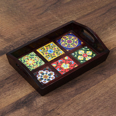 WUT518-eCraftIndia-Decorative-Multiutility-Colorful-Wooden-Serving-Tray_1