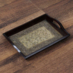 WUT519-eCraftIndia-Decorative-Multiutility-Colorful-Wooden-Serving-Tray_1