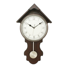 WWCK7177_FF_CHOCOLATE-eCraftIndia-Dark-Brown-Vertical-Wooden-Wall-Clock_1