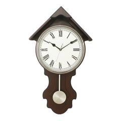 WWCK7177_RF_CHOCOLATE-eCraftIndia-Dark-Brown-Vertical-Wooden-Wall-Clock_1