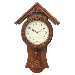 WWCK717_GOLDEN_BROWN-eCraftIndia-Golden-Brown-Circular-Dial-Vertical-Analog-Pendulum-Wall-Clock-(53Cm-X-33Cm)_1