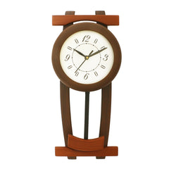 WWCK8117_WALL_NUT-eCraftIndia-Dark-Brown-Rectangle-Wooden-Wall-Clock_1
