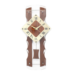 WWCK8137_BROWN-eCraftIndia-Brown-Wooden-Designer-Vertical-Analog-Pendulum-Wall-Clock-With-Curved-Glass-Front-Panel-(50Cm-X-24Cm)_1